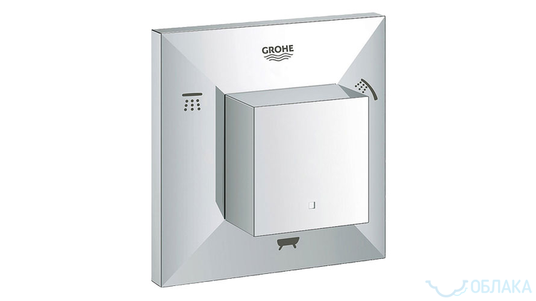Grohe Allure Brilliant-art42081-19798000-Смесители-1